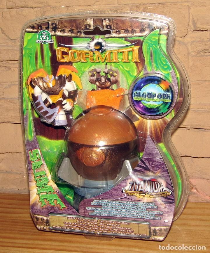 FIGURA GORMITI - GLOOP ORB - SLIME - TITANIUM (Juguetes - Figuras de Acción - Gormiti)