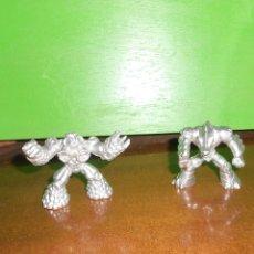 Figurines et Jouets Gormiti: LOTE 2 GORMITI - PLATEADO - BOMBOS DEL VOLCAN Y CAVAREX DE AGUA. DISPONGO DE MAS JUGUETES. Lote 242177770