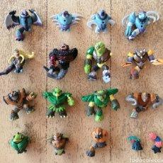 Figuras y Muñecos Gormiti: LOTE PIEZAS GORMITIS DESMONTABLES. Lote 268438284