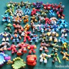 Figuras y Muñecos Gormiti: LOTE 50 GORMITI. Lote 270170588