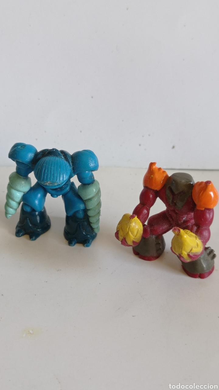 Figuras y Muñecos Gormiti: LOTE DE 5 FIGURAS EN PVC / TIPO GORMITI MINIATURA / MIDEN 3 CM DE ALTO - Foto 4 - 286631923