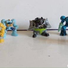 Figuras y Muñecos Gormiti: LOTE DE 5 FIGURAS EN PVC / TIPO GORMITI MINIATURA / MIDEN 3 CM DE ALTO. Lote 286631923