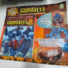 Figuras y Muñecos Gormiti: GORMITI. POLYPUS. EN BLISTER. CON GAFAS Y REVISTA. Lote 286954583