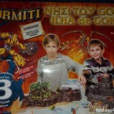 Figuras y Muñecos Gormiti: GORMITI ILHA DE GORM - FUERTE - FORTALEZA. Lote 294493238