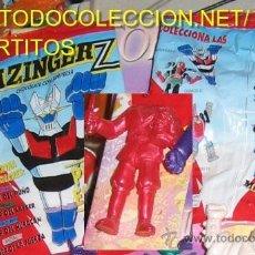Figuras y Muñecos Manga: MAZINGER Z FIGURITA DE PLASTICO BARON RED ROJO SORPRESA HUEVOS KINDER MAZINGER. Lote 19418676
