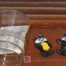 Figuras y Muñecos Manga: COLGANTE MOVIL JAPONES MANGA ANIME BLACK CATS GATITOS GATOS NEGROS. Lote 11316384