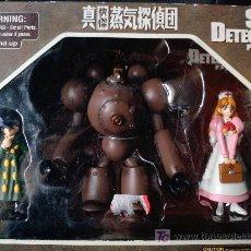 Figuras y Muñecos Manga: STEAM DETECTIVES, ANIME MANGA, 3 FIGURAS. Lote 27543674