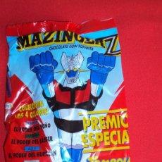 Figuras y Muñecos Manga: (MZ)SOBRE CHOCOLATE CON SORPRESA MAZINGER Z CONTENIENDO UNA FIGURA SIN ABRIR AÑOS 80. Lote 19670196