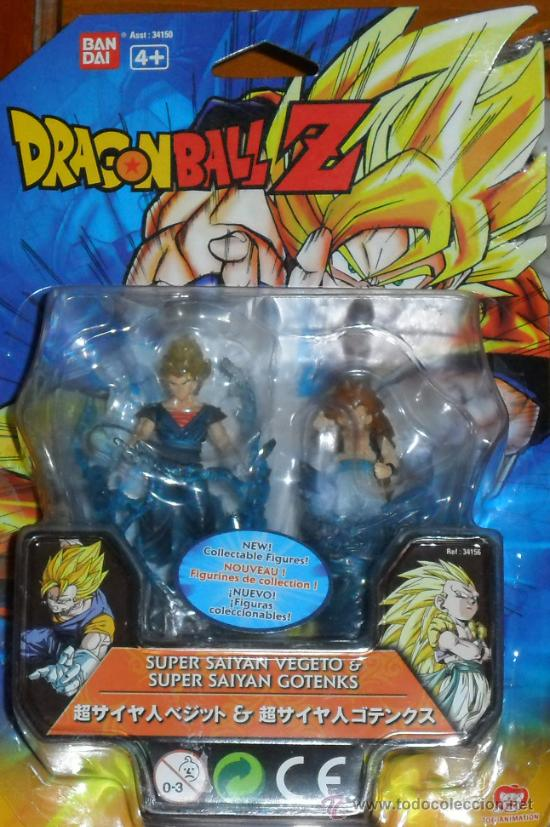 LOTE3673 DRAGON BALL Z SUPER SEIYAN VEGETO * SUPER SEIYAN GOTENKS (Juguetes - Figuras de Acción - Manga y Anime)