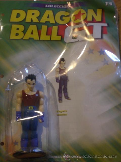 FIGURA COLECCION DRAGON BALL GT. Nº 13 VEGETA ADULTO. PLANETA AGOSTINI. PRECINTADO. (Juguetes - Figuras de Acción - Manga y Anime)