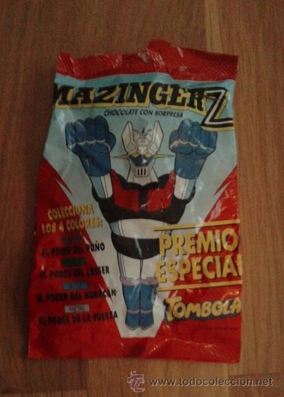 SOBRE MAZINGER Z, VACIO (Juguetes - Figuras de Acción - Manga y Anime)