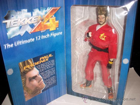 Figura Paul Phoenix 30 Cms Tekken 4 Serie 2 Sold Through