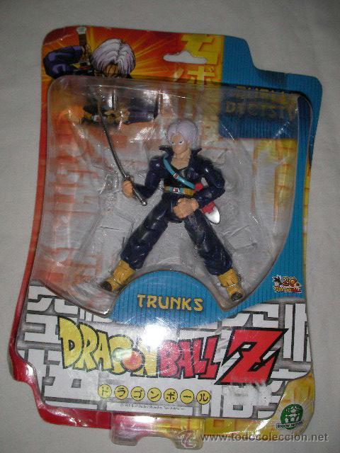 ANTIGUO BLISTER DRAGON BALL Z - TRUNKS (Juguetes - Figuras de Acción - Manga y Anime)
