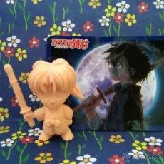 Figuras y Muñecos Manga: RUROUNI RURONI KENSHI KENSHIN Y CARD. Lote 46392988