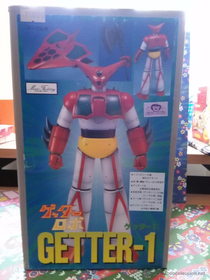 GETTER GETTA ROBOT 1 MODEL KIT SOFT VINYL MAX FACTORY RARE KIT MAZINGER Z  GO NAGAI