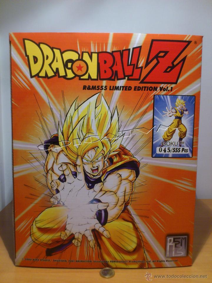 DRAGON BALL Z - GOKU - FIGURA FUNIMATION - EDICION LIMITADA NUMERADA - SOLO 555 FIGURAS MUNDIALES (Juguetes - Figuras de Acción - Manga y Anime)