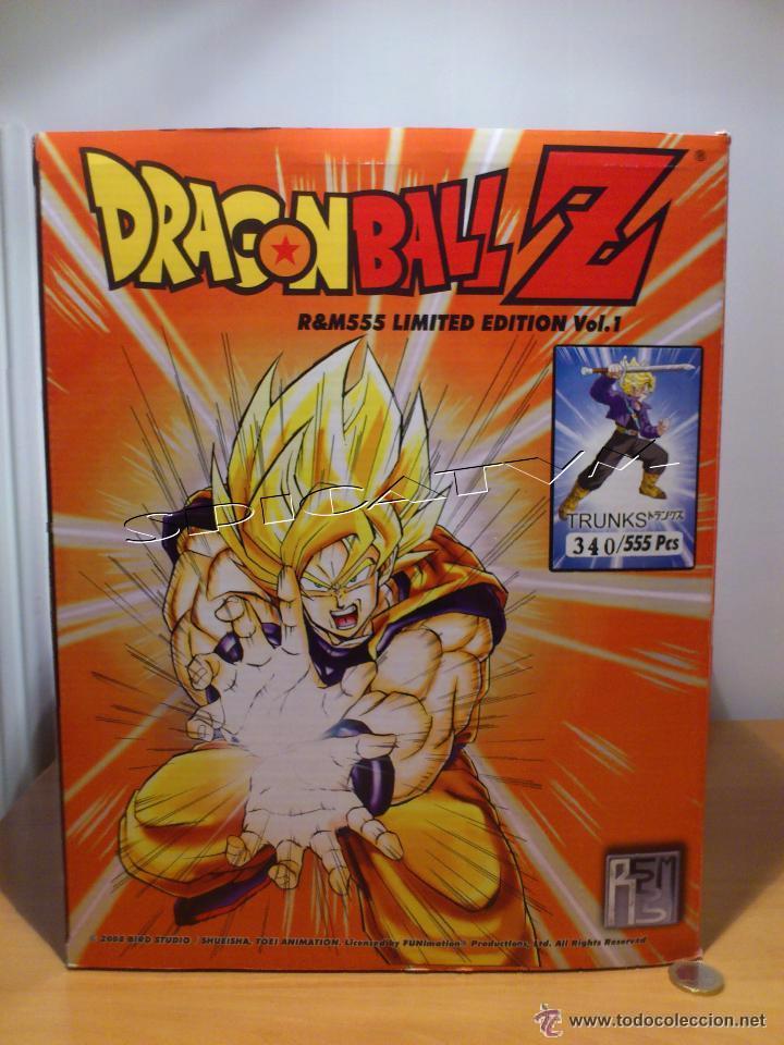 DRAGON BALL Z - FIGURA TRUNKS - FUNIMATION - LIMITADA - NUMERADA 340 - SOLO 555 FIGURAS MUNDIALES - (Juguetes - Figuras de Acción - Manga y Anime)