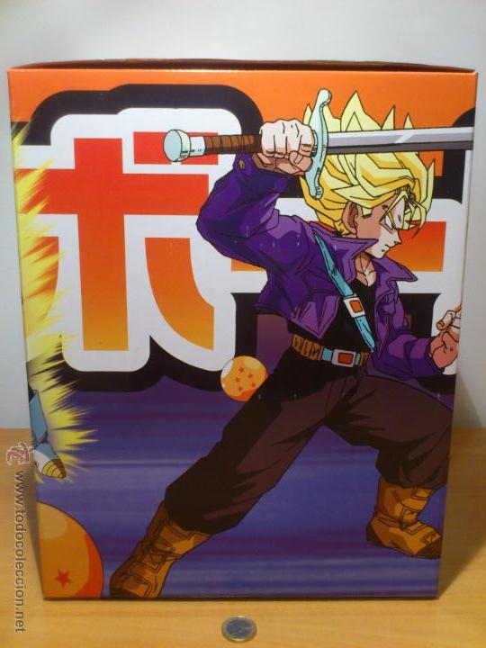 Figuras y Muñecos Manga: DRAGON BALL Z - FIGURA TRUNKS - FUNIMATION - LIMITADA - NUMERADA 340 - SOLO 555 FIGURAS MUNDIALES - - Foto 3 - 54835629
