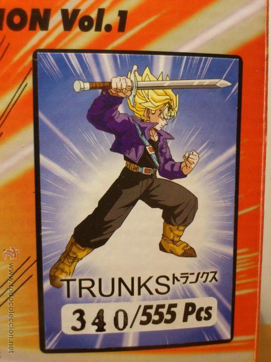 Figuras y Muñecos Manga: DRAGON BALL Z - FIGURA TRUNKS - FUNIMATION - LIMITADA - NUMERADA 340 - SOLO 555 FIGURAS MUNDIALES - - Foto 8 - 54835629