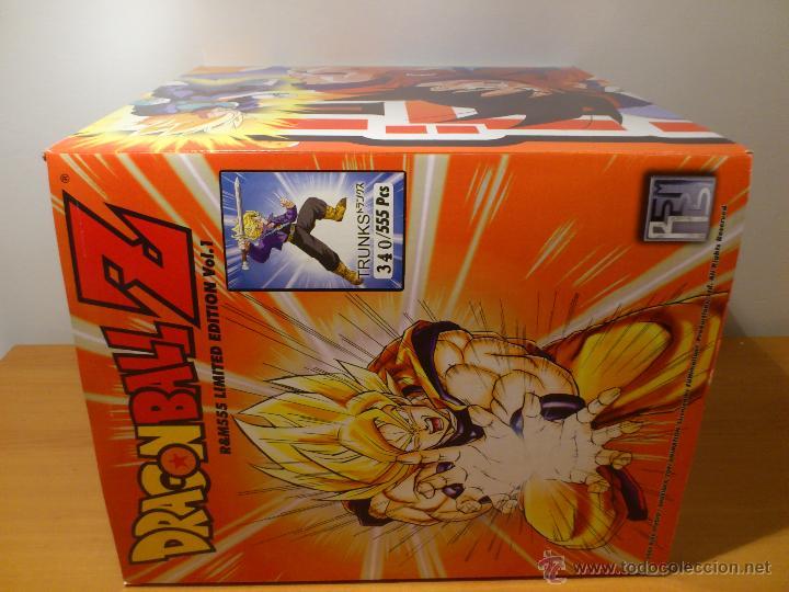 Figuras y Muñecos Manga: DRAGON BALL Z - FIGURA TRUNKS - FUNIMATION - LIMITADA - NUMERADA 340 - SOLO 555 FIGURAS MUNDIALES - - Foto 9 - 54835629