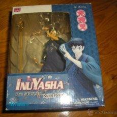 Figuras y Muñecos Manga: FIGURA INUYASHA - MIROKU - PVC STATUES - COMPLETA Y CON CAJA. EXCELENTE ESTADO. Lote 54858831