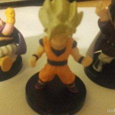 Figuras y Muñecos Manga - DRAGON BALL 3 FIGURITAS BANDAI - SON GOKU MR SATÁN BOO - BOLA DE DRAGON DRAC - - 56400664