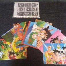 Figuras y Muñecos Manga: LOTE DRAGONBALL BOLA DE DRAC BOLA DE DRAGON POSTERS TELEINDISCRETA SONRICS FOTOCOPIAS AÑOS 90 LEER. Lote 57134320