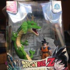 Figuras y Muñecos Manga: IMPRESIONANTE CAJA DRAGON BALL Z GOKU + GIGANTESCO DRAGON SHEN LONG DBZ HE MAN. Lote 57604610