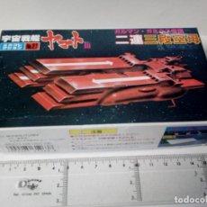Figuras y Muñecos Manga: -SPACE CRUISER YAMATO Nº 27 BANDAI 1981 MADE IN JAPAN -KIT PLASTICO-14CM-RARO-EARTH DEFENSE FORCE. Lote 72845235
