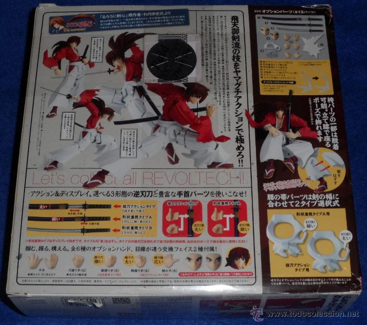 Figuras y Muñecos Manga: Kenshin Himura - Revoltech Yamaguchi ¡Impecable! - Foto 3 - 76634607