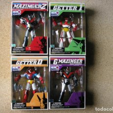 Figuras y Muñecos Manga: MAZINGER HERO COLLECTION 4 FIGURAS DIECAST METAL. Lote 41147881