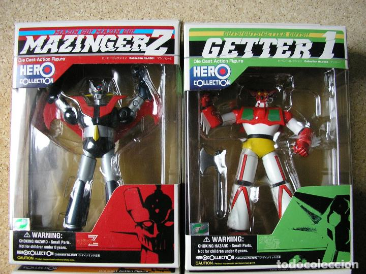 Figuras y Muñecos Manga: Mazinger Hero Collection 4 Figuras Diecast Metal - Foto 2 - 41147881