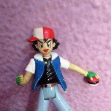 Figuras y Muñecos Manga: MUÑECO FIGURA ASH KETCHUM POKEMON 2000. Lote 80261257