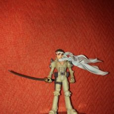 Figuras y Muñecos Manga: FIGURA JIN SAOTOME PILOTO DE MECH ROBOT FULL METAL MADNESS CAPCOM. Lote 84776172