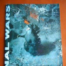 Figuras y Muñecos Manga: CUADERNO ESCRITURA JAPÓN EDICIÓN LIMITADA GODZILLA FINAL WARS 2004. KAIJU MONSTER. WRITING NOTEBOOK. Lote 86313000