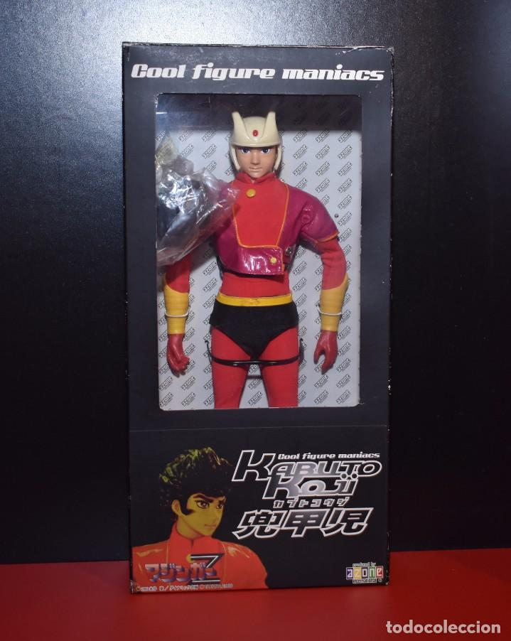 MAZINGER Z KOJI KABUTO AZONE COOL FIGURE MANIACS AÑO 2000 (Juguetes - Figuras de Acción - Manga y Anime)