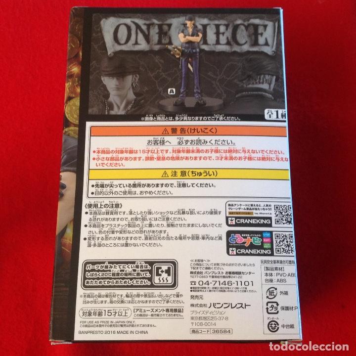 Figuras y Muñecos Manga: RORONOA ZORO GRANDLINE MEN FILM GOLD EDITION VOL.3 BANPRESTO, SERIE ONE PIECE. NUEVA, en su caja. - Foto 4 - 94545211