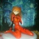 Figuras y Muñecos Manga: FANTASTICA FIGURA ANIME-MANGA DE ASUKA DE NEON GENESIS EVANGELION - SEGA, MIDE UNOS 15 CM. Lote 95753607