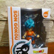 Figuras y Muñecos Manga: DRAGON BALL - FIGURA - SON GOKOU - GOKU - SAIYAN GOD - TAMASHII BUDDIES - 022 - PRECINTADO - NUEVO. Lote 96641539