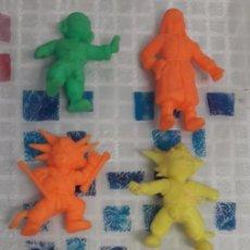 Figuras y Muñecos Manga: DRAGON BALL. LOTE DE 8 MUÑECO GOMAS DE MATUTANO. BOLA DE DRAGÓN. SON GOKU.. Lote 97939135