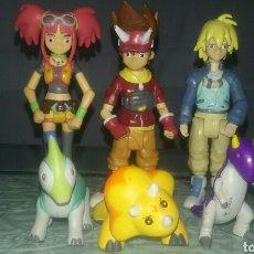 Figuras y Muñecos Manga: LOTE FIGURAS DINOSAUR KING SEGA PLAYMATES TOYS. Lote 98027356