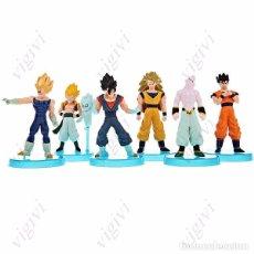 Figuras y Muñecos Manga: LOTE 6 X FIGURAS DRAGON BALL-BOLA DE DRAGON 13 GENERACIÓN COLECCIÓN GOKU. Lote 103618855