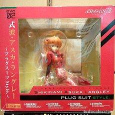 Figuras y Muñecos Manga: SHIKINAMI ASUKA LANGLEY PLUG SUIT STILE. Lote 105806687