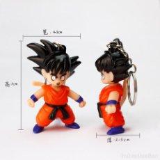 Figuras y Muñecos Manga: DRAGON BALL SON GOKU LED COLGANTE LLAVERO CON SONIDO Y LUZ LED-NUEVO CALIDAD. Lote 157243025