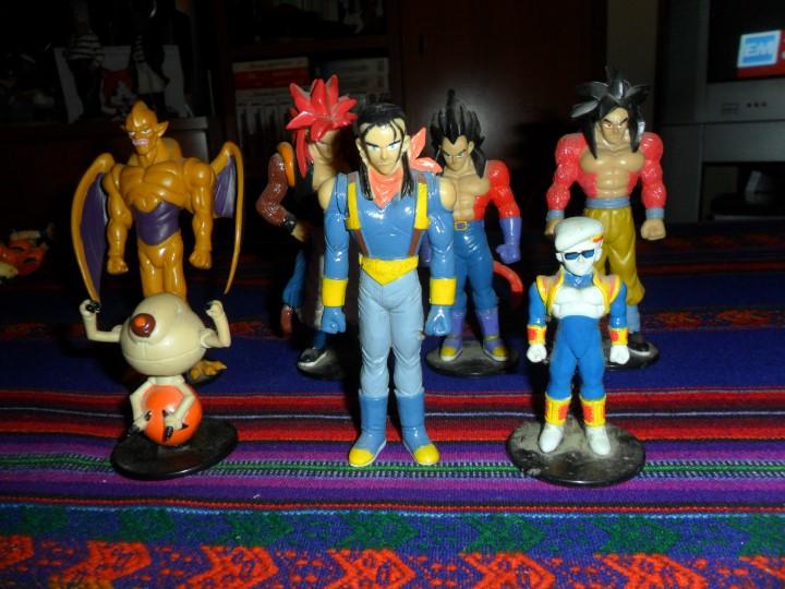 Figuras y Muñecos Manga: LOTE 18 FIGURAS FIGURA DRAGON BALL GT. BUEN ESTADO. - Foto 4 - 106191423