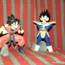 Figuras y Muñecos Manga: 2 FIGURAS DRAGONBALL Z. VENDING BANDAI. SON GOKU Y VEGETA. Lote 114345719