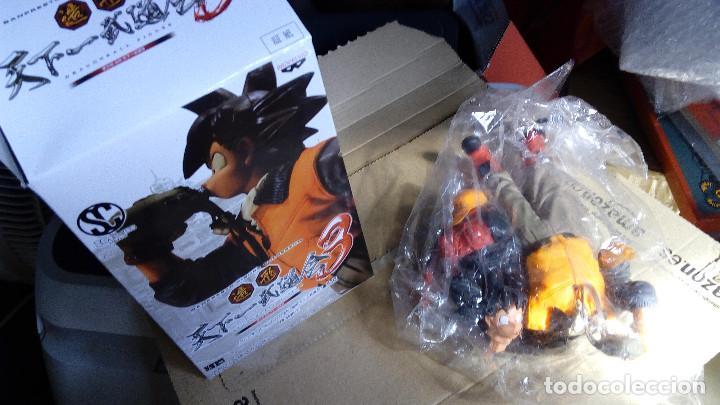 Figuras y Muñecos Manga: DRAGON BALL: GOKU, (20 CM) FIGURA MUY DETALLADA, NUEVA - Foto 5 - 114919843