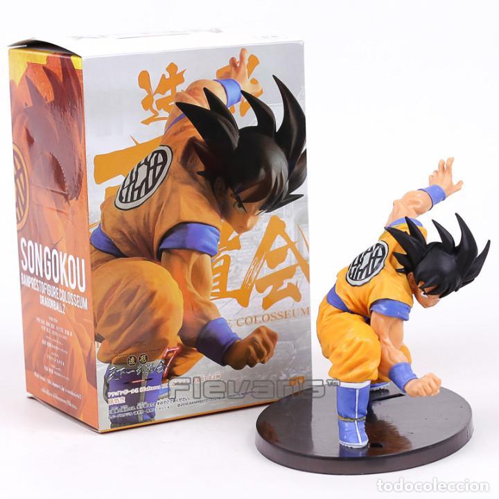 DRAGON BALL: GOKU (12 CM) FIGURA MUY DETALLADA, NUEVA (Juguetes - Figuras de Acción - Manga y Anime)