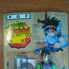 Figuras y Muñecos Manga: DRAGON QUEST LAS AVENTURAS DE FLY POP COMPLETO EN BLISTER EN CASTELLANO TAKARA 1991. Lote 116115635
