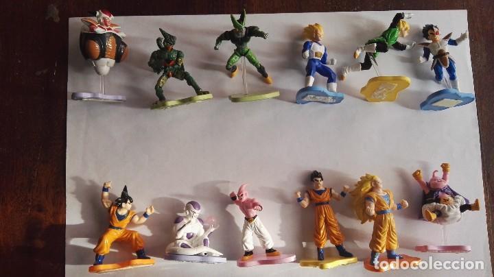 COLECCION COMPLETA FIGURA DRAGON BALL Z EVOLUTION COLLECTION MARCA DISCAPA BOLA DE DRAGON (Juguetes - Figuras de Acción - Manga y Anime)